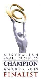 Australian Small Business Award 2019 Finalist